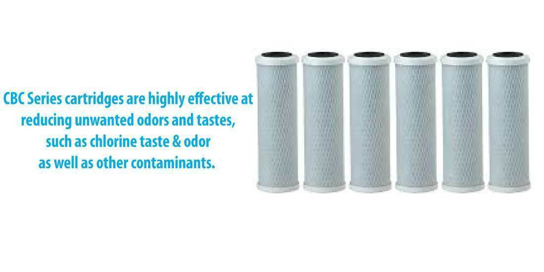 What others say on Pentek CBC Carbon Block Filter Cartridge