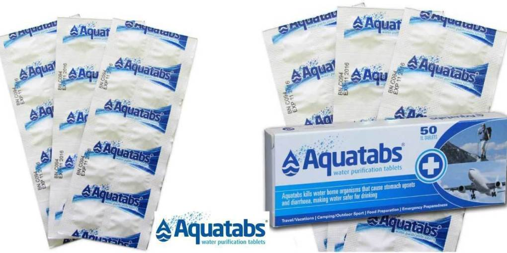 Potable Aqua Water Tablets Review