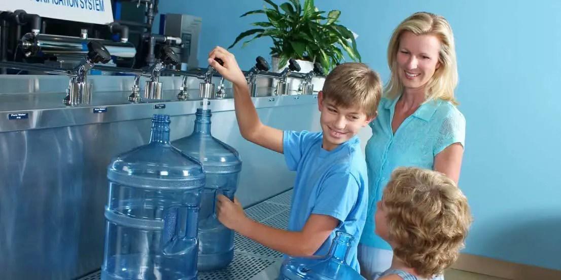 Alkaline Water Refilling Station Near Me - Water Evidence