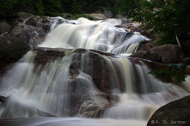 Step Falls Near Newry Oxford Maine