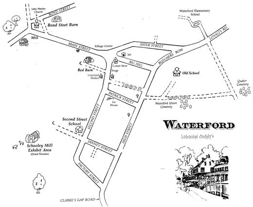 Street Map of Waterford