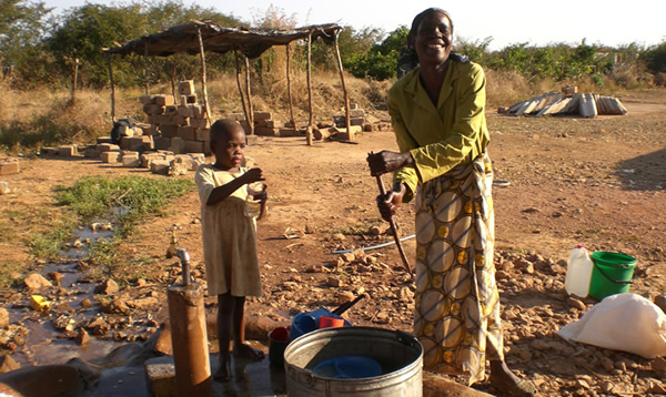 Safe drinking water at Chipapa