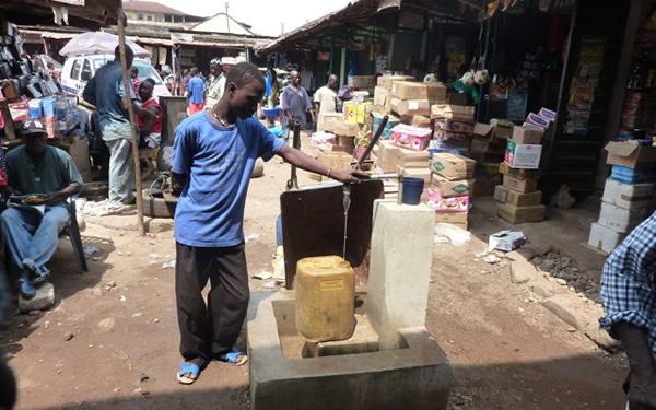 Bo market, Sierre Leone