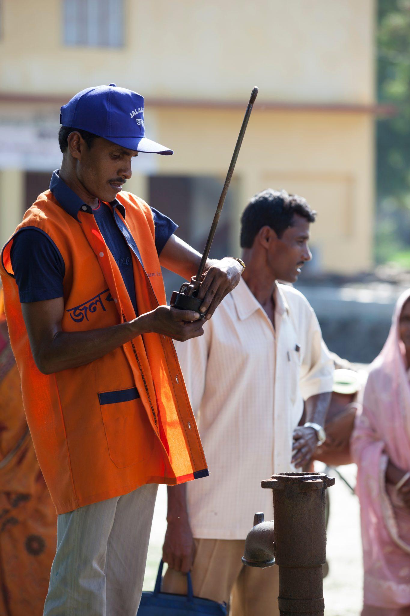 Meet Debasis | Clean Water in India | Where We Work | Water For People