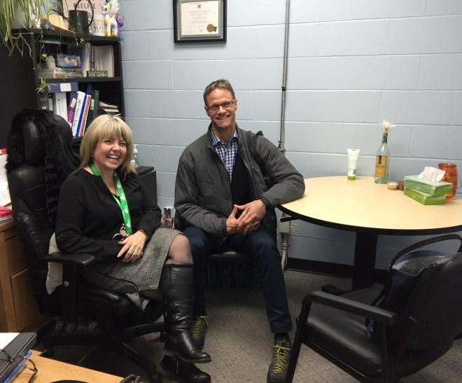 Karen Gallagher-Burt, E.D. of the HSCA, and Robert McKercher, Chair of the CPC
