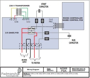 Single Phase Pump Wiring Diagram  Wiring Diagram Home