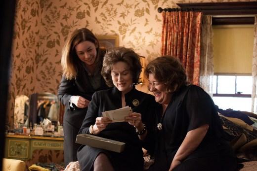 Julianne Nicholson, Meryl Streep, and Margo Martindale are three of the crazy Weston women.