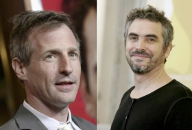 Spike Jonze's brilliant Her (left) frustrated people too much for a nom; Alfonso Cuarón will win for his techinical work in Gravity.