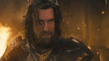 Sharlto Copley - of District 9 - portrays King Stefan.