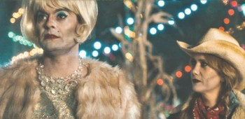 Despite gaining a gay following for his SNL character 'Stefon,' Bill Hader (left), playing a gay, struggling actor in 'The Skeleton Twins,' doesn't get many gay roles pitched to him.