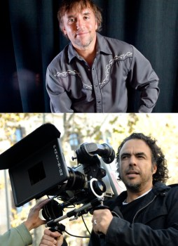 Richard Linklater (Boyhood) and Alejandro G. Iñárritu (Birdman) are in a close race for Best Director.