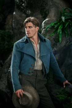 Being handsome doesn't save Garrett Hedlund's campy performance as a young Captain Hook.