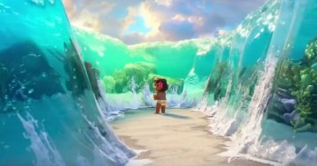 Moana's scenery is breathtaking.