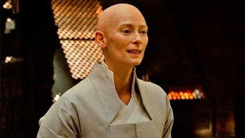 Great actors like Tilda Swinton bring their all to Dr. Strange.