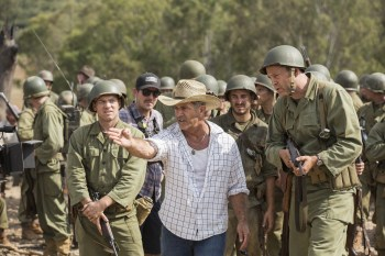 Director Mel Gibson directs a bunch of men in yet another film about a martyr taking on the world...poor misunderstood Mel...