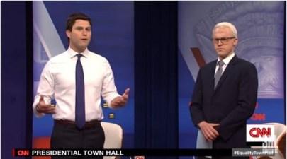'Saturday Night Live' lampoons CNN town hall on LGBTQ issues