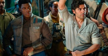 No romance for Finn and Poe in 'Rise of Skywalker,' say 'Star Wars' actors
