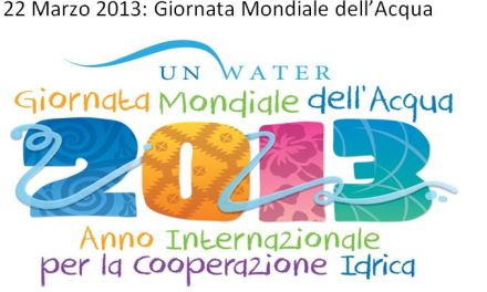 UN Water day per la cooperazione idrica