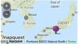 mappa parco marino Jap.