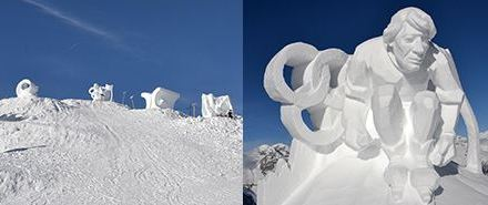 Festival delle sculture di neve a Klausberg in Valle Aurina. dal  12.1 al 16.1.2015