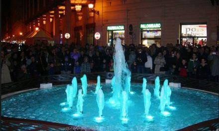 A Chieti, in piazza Valignani: la Fontana della Discordia
