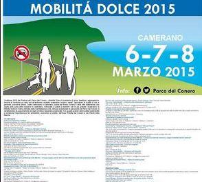 Festival del Parco del Conero. A Camerano ( AN) dal 6 all'8 marzo. La mobilità dolce 2015