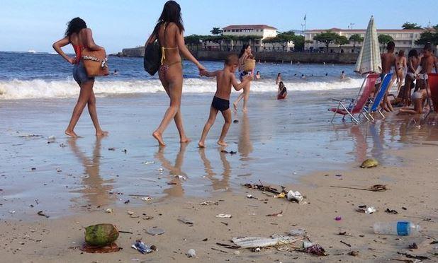 Rio sta perdendo la battaglia per avere coste, fiumi e acqua del rubinetto puliti per i giochi olimpici 2016