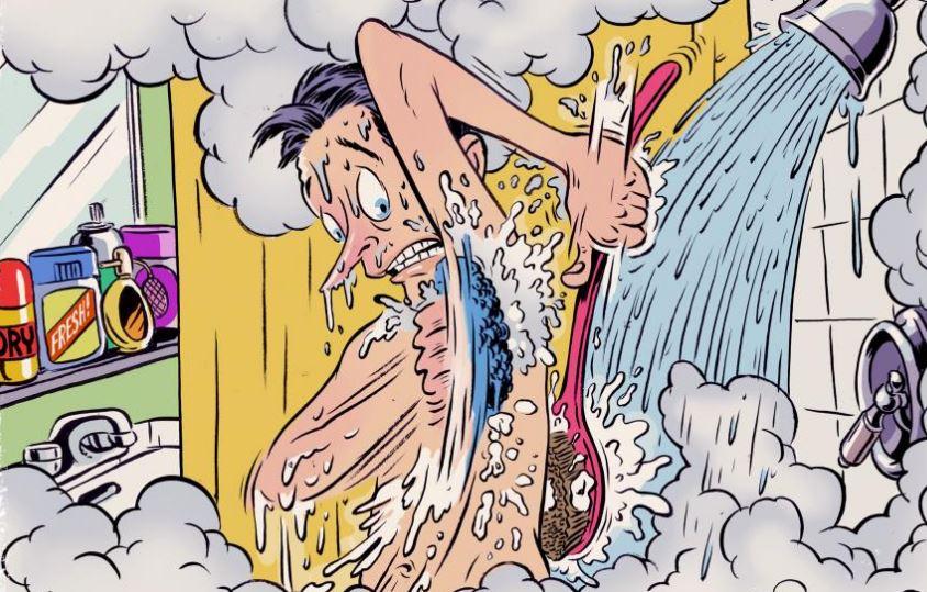 100/% di idee sbagliate sulla necessità di farsi la doccia
