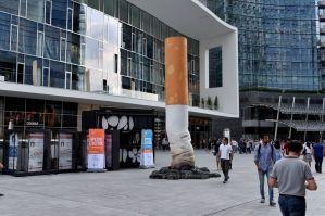 Milano-contro i mozziconi di sigarette