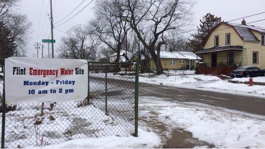 Flint emergency water