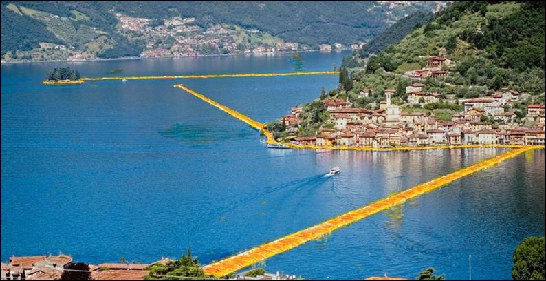 Floating piers. La truffa galleggiante