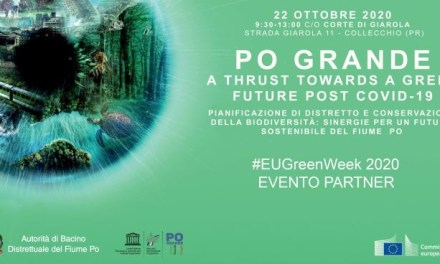 #EUGreenWeek: il futuro del Po Grande dopo il coronavirus