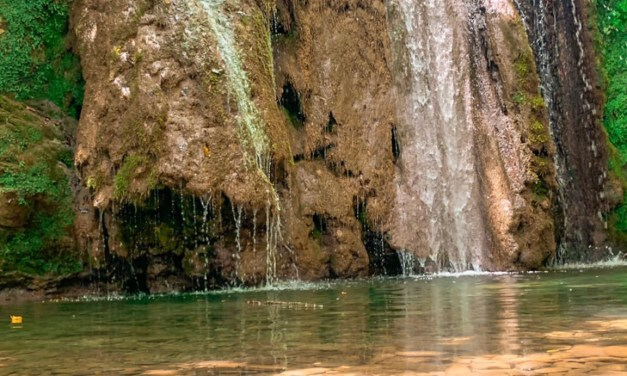 Le cascate del Ghiaccione tra natura e relax