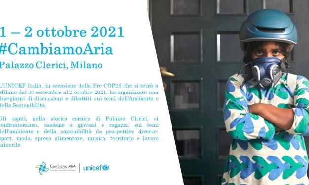 1-2/10: Conferenza #CambiamoAria a Palazzo Clerici