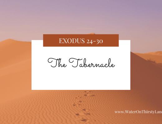 Exodus 24-30: The Tabernacle