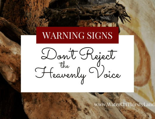 Don't Reject the Heavenly Voice