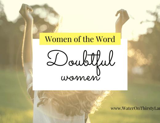 Doubtful women