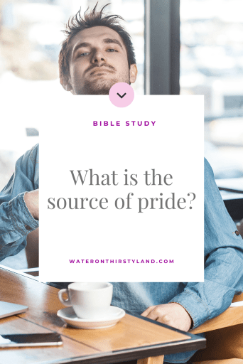 What is the source of pride?