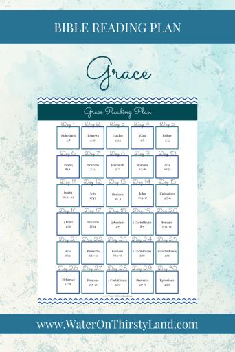 Grace Bible Reading Plan