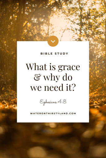 What is grace and why do we need it?