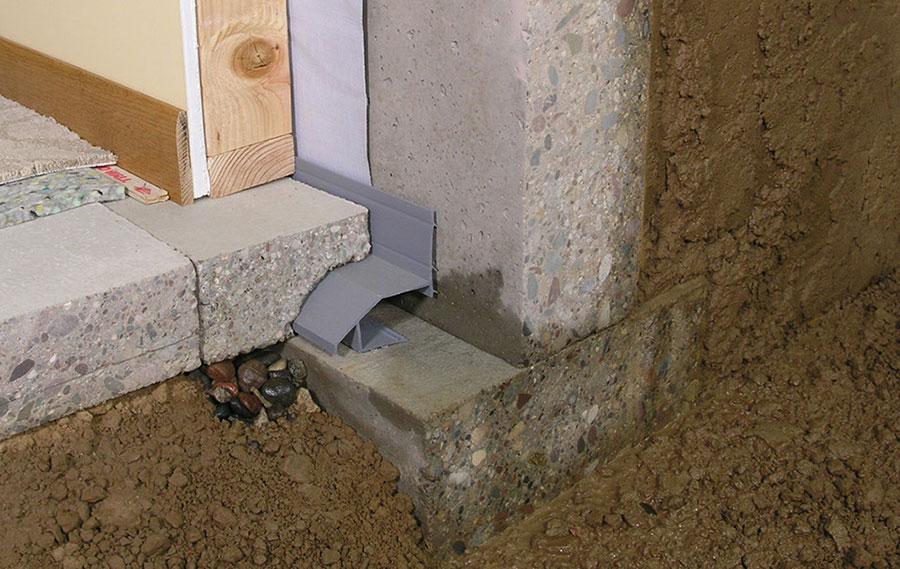remedial drainage options waterproof