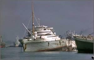 ss Nieuw Amsterdam sloop