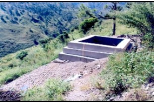 Water harvesting structure