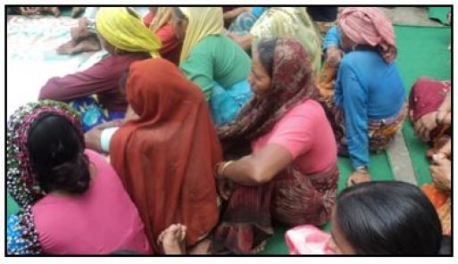 Women Sensitization in watershed development