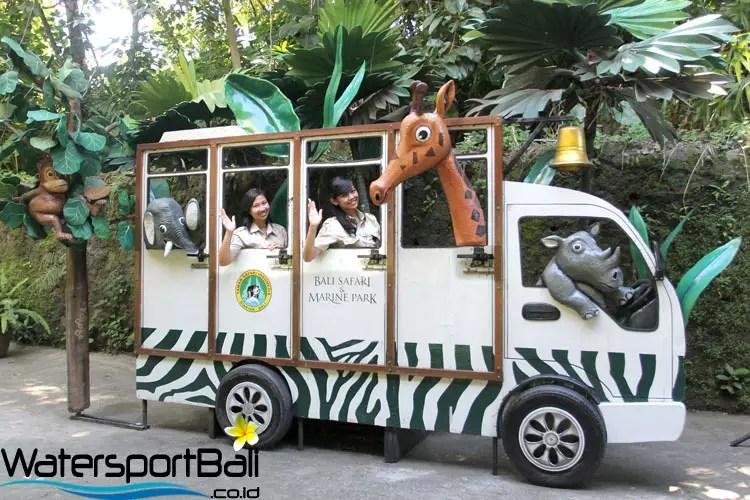 Mobil Trem Bali Safari