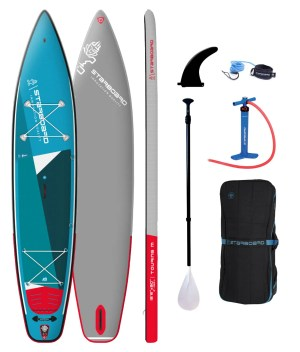 starboard inflatable sup 12.6 x 30 x 6 touring zen sc package