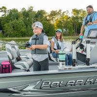 Photos: Family Fishing on a Boat