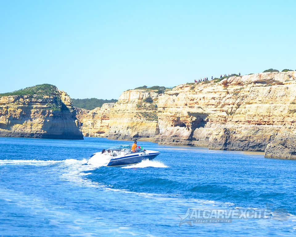 algarve speed boat hire rental