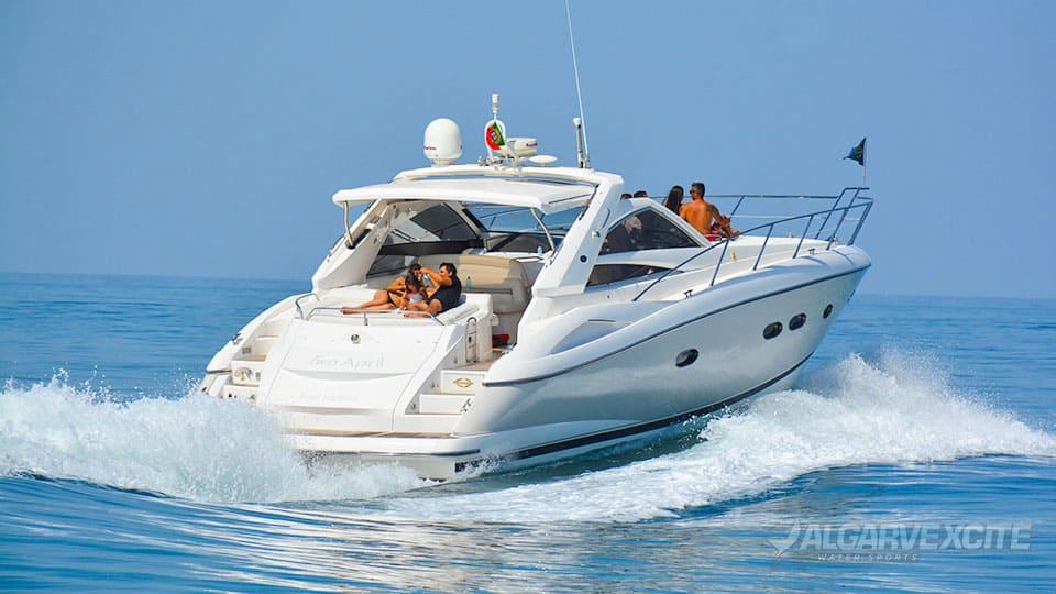 sunseeker yacht hire algarve