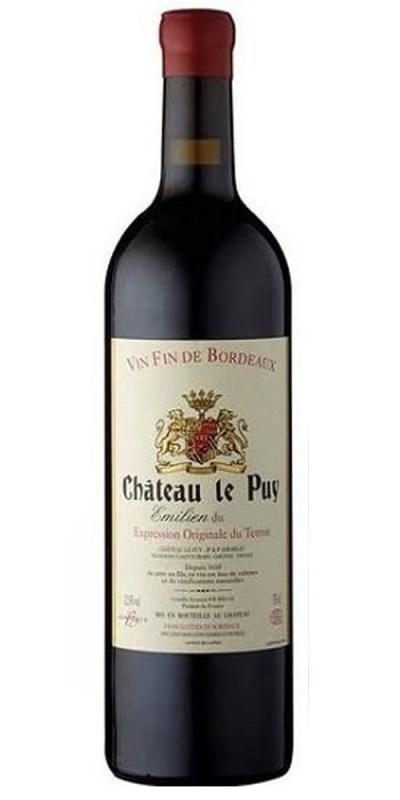 2015 Bordeaux Cote des Francs Emilien Château le Puy